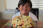 jude's popcorn cake