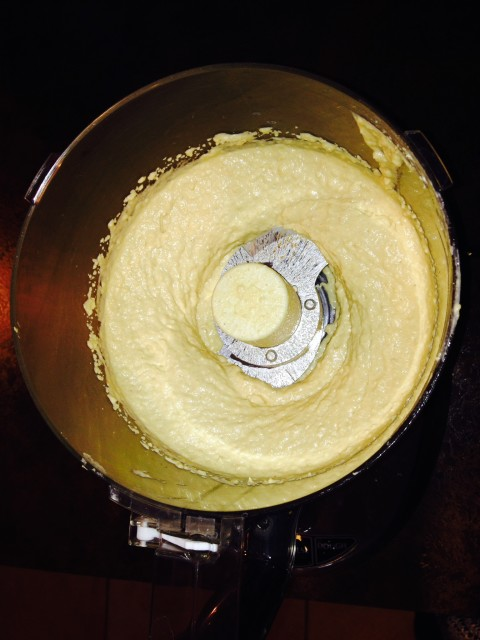 hummus blended 2