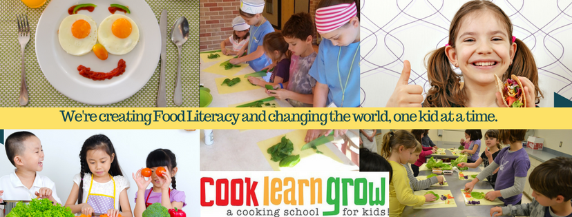 We're Creating Food Literacy and Changing The World, one kid at a time.
